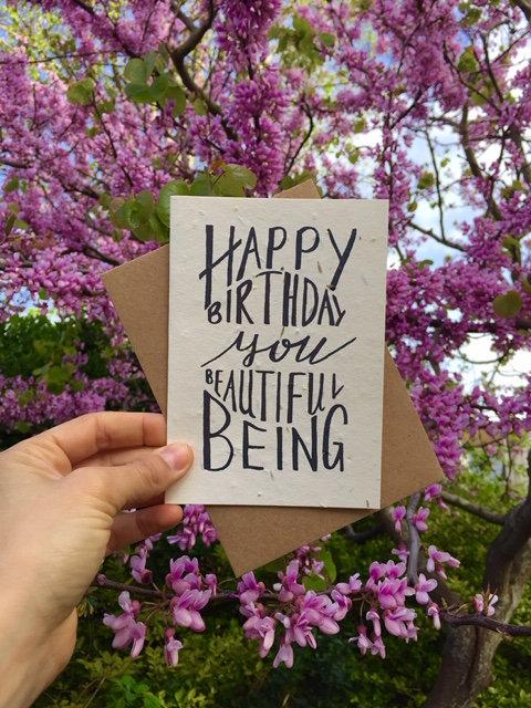 Loop Loop Happy Birthday Wildflower Plantable Card