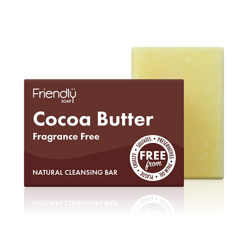 Cocoa Butter Facial Cleansing Bar Natural Handmade Friendly Soap