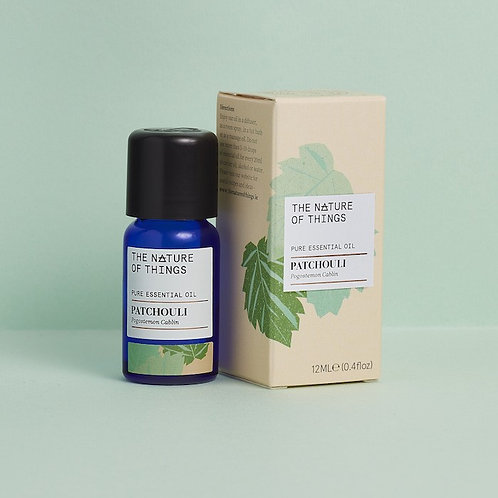 Patchouli Essential Oil 12ml The Nature Of Things green background