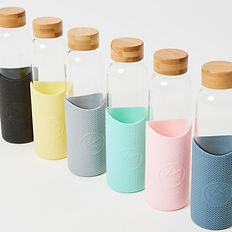 Eco Friendly Neon Kactus Reusable Drinking Bottles