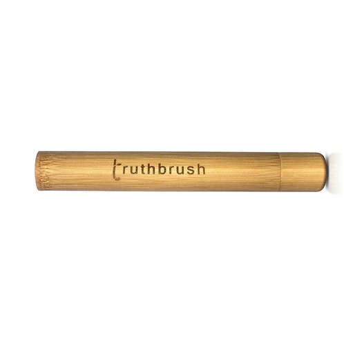 Truthbrush Natural Eco Friendly Bamboo Toothbrush Travel Case/ Holder