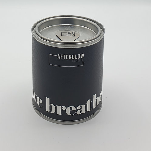 Afterglow Candles - We Breathe - Peppermint & Eucalyptus Coconut & Soy Wax Vegan Candle