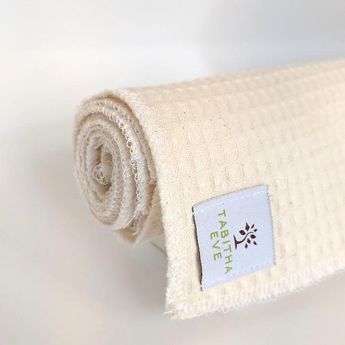 Tabitha Eve cotton waffle unpaper towels