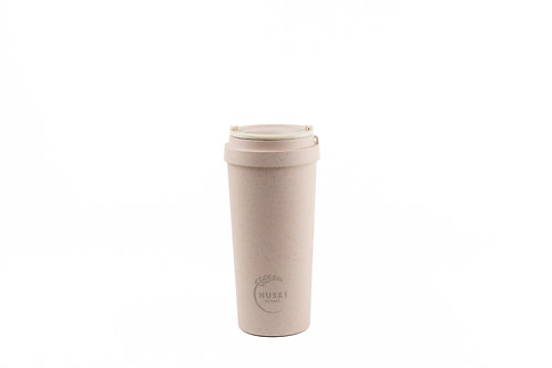 Huski home Pastel pink reusable rice husk cup