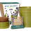 Mini Meadow Gift Set Seedball with pots, seeds, and coir
