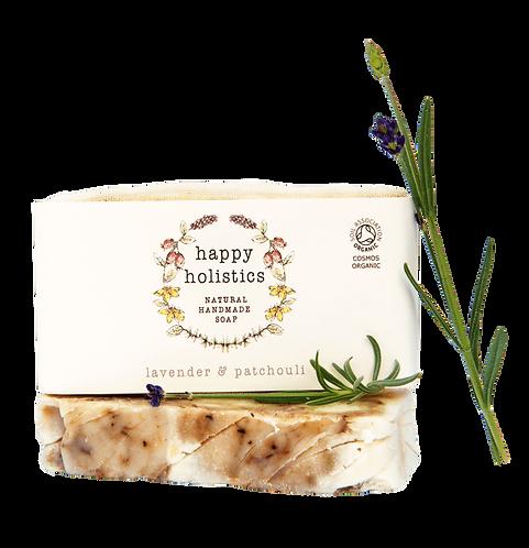 Happy Holistics Lavender and Patchouli Soap