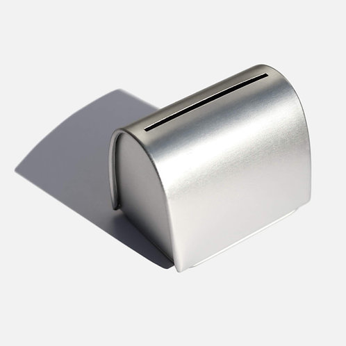 Zero Waste Club Razor Blade Disposal Tin holds up to 300 blades