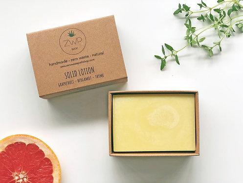 Citrus Solid Lotion - Zero Waste Path