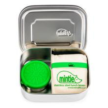 Stainless Steel Mintie lunchbox set with pot and bag