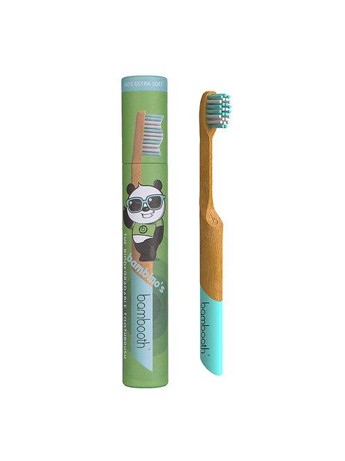 Kids Bamboo Toothbrush - Aqua Marine - Bambooth