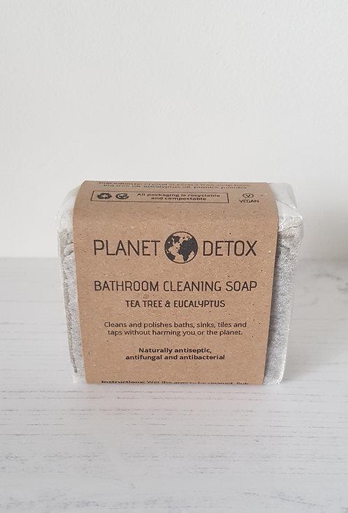 Planet Detox bathroom cleaning soap bar tea tree and eucalyptus