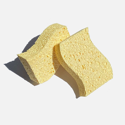 Biodegradable Kitchen Sponges x 2 - Zero Waste Club