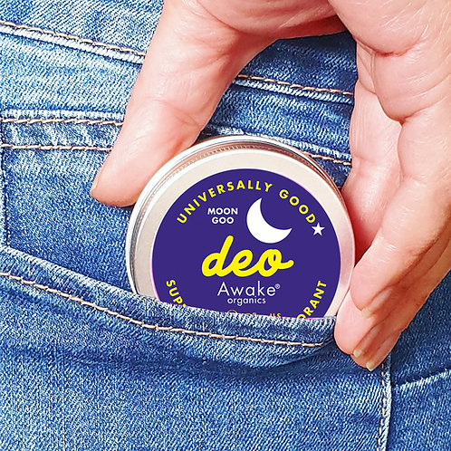 Awake Organics Moon Goo Extra Strength Natural Deodorant - 55G Tin