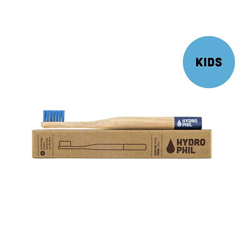 Hydrophil Childrens blue soft bamboo toothbrush