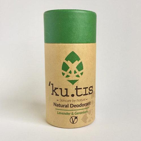 Kutis Skincare Lavender & Geranium Natural Vegan Deodorant 55g