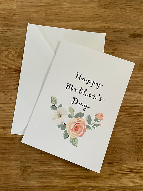 Bella Casa Floral Mothers Day Card