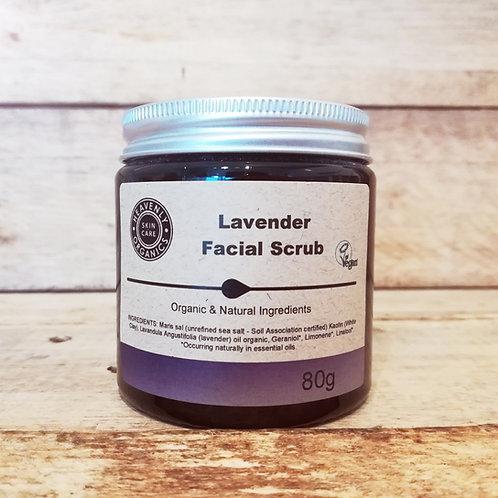 Lavender Facial Scrub - Heavenly Organics