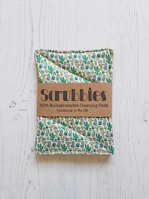 Scrubbies UK Unsponges Cactus Twin pack