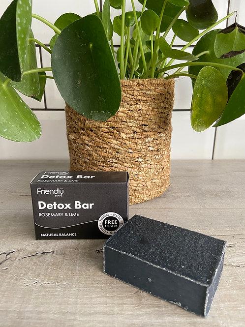 Detox Vegan Soap Bar - Friendly Soap