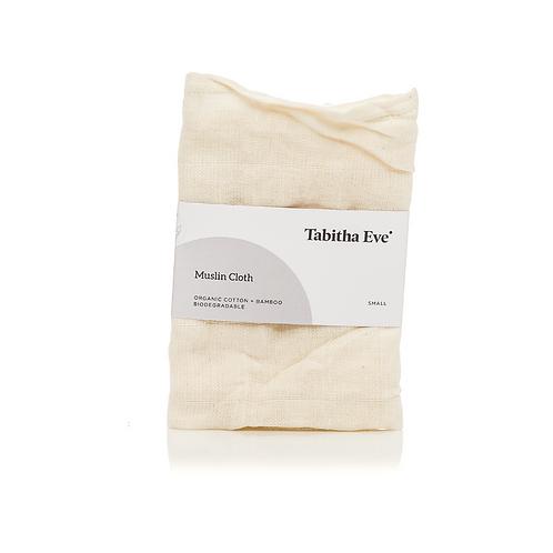 Tabitha Eve small Organic Bamboo Muslin Cloth