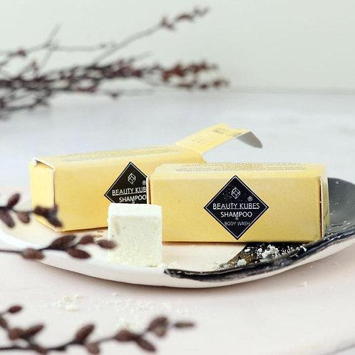 Beauty Kubes Shampoo and Body Wash Sample