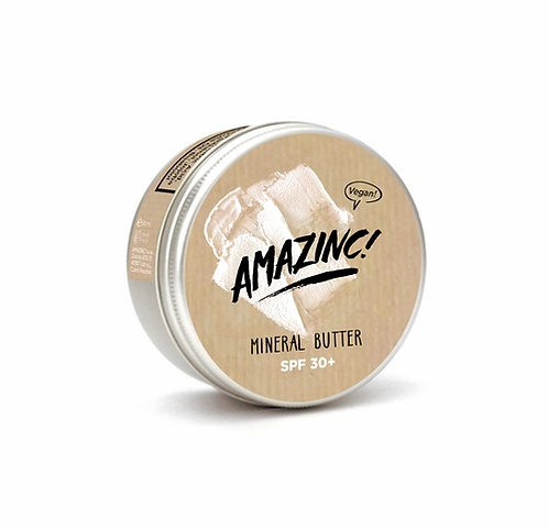 Vegan Mineral Butter SuncreamSPF 30 -Amazinc 70g