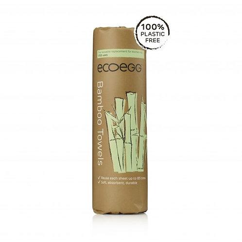 Ecoegg Reusable Bamboo Towels 100% Plastic Free