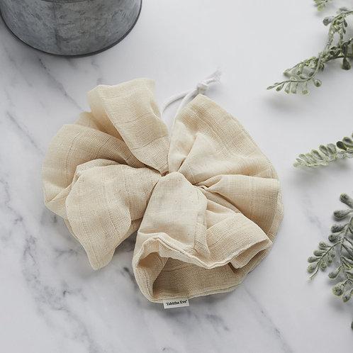 Tabitha Eve Organic Cotton Bath Pouf