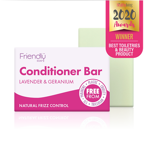 Friendly Soap Lavender & Geranium Conditioner Bar 2020 winner