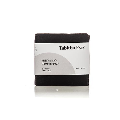 Tabitha Eve set of 5 reusable nail varnish remover pads