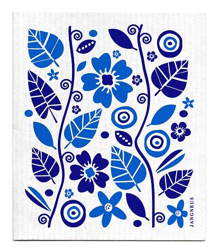 Blue Garden Compostable Dishcloth - Jangneus