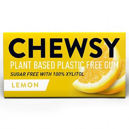 Chewsy - Lemon Plastic Free Vegan Plant Based Chewing Gum