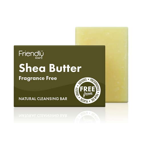 Shea Butter Facial Cleansing Bar Natural Handmade Friendly Soap