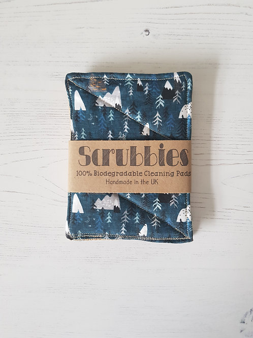 Scrubbies UK Blue Forest twin pack unsponges