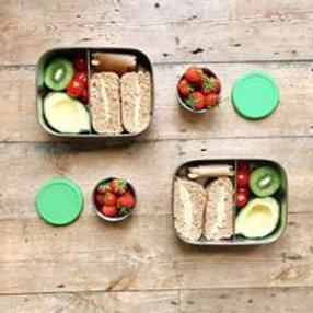 Mintie Childrens lunchbox set with sandwiches