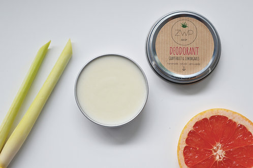 Zero Waste Path Grapefruit and Lemongrass Deodorant