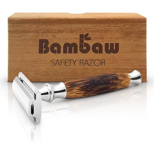 Bambaw Wooden Safety Razor with box