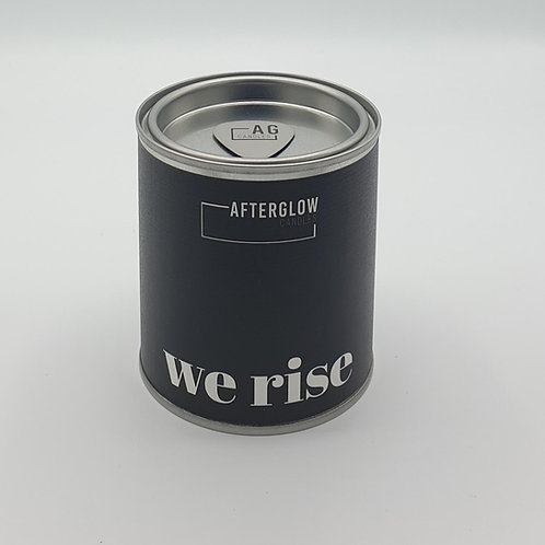 Afterglow Candles - We Rise - Dark Honey & Tobacco Coconut & Soy Wax Candle