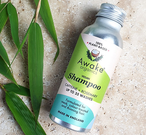 Water Activated Plastic Free Shampoo Bottle - Awake Organics