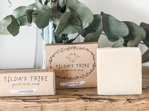 Lavender Natural Goats Milk Soap - Tilda's Tribe 100G