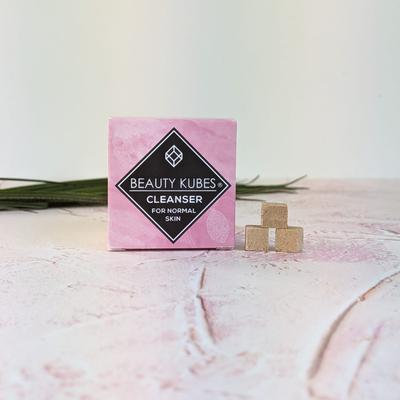 Beauty Kubes Plastic Free Cleanser For Normal Skin