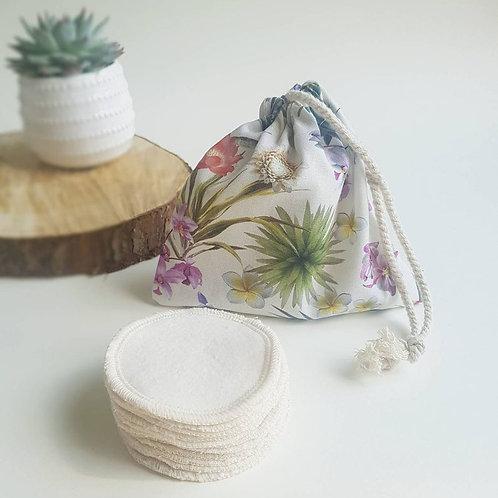 Leave no trace reusable cotton pads plant design