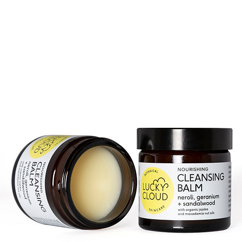 Lucky cloud nourishing cleansing balm open pot 60 ml