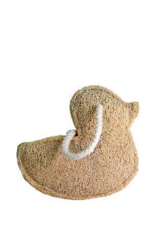 Croll & Denecke Duck shaped loofah sponge