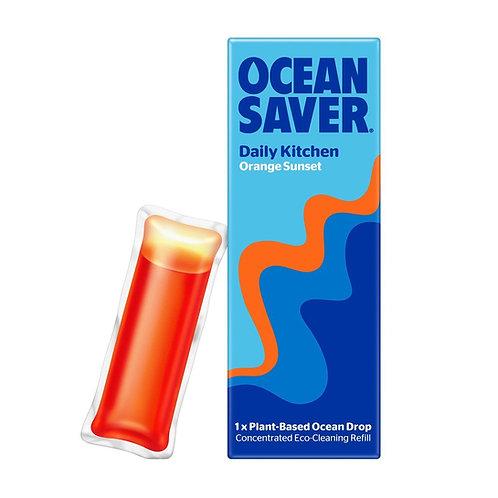 Oceansaver Kitchen Spray refill orange sunset plant based ocean drop