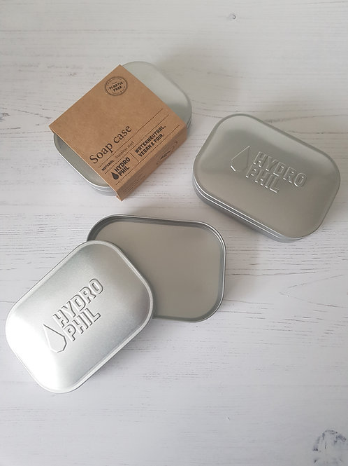 Hydrophil stainless steel travel soap box