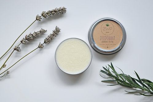 Zero Waste Path Lavender and Tea Tree Natural Vegan Deodorant