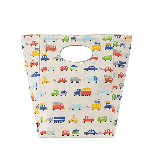 Fluf Classic Cars Lunch Bag front view