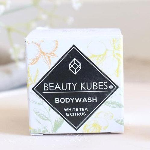Beauty Kubes Plastic Free Body Wash White Tea & Citrus