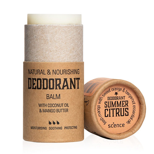 Deodorant Balm Summer Citrus from Scence Natural Skincare